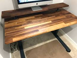 desk 130 an uplift walnut desktop can inspire you to work in a 129 superb walnut butcher block desktop 25 x485 inch long character black walnut desk black walnut table top walnut butcher block desktop 25 x485 inch long
