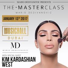 make up classes in ri the masterclass dubai featuring and mario tickets fri jan 13