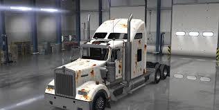 kenworth truck factory rusty kenworth w900 truck skin american truck simulator mod