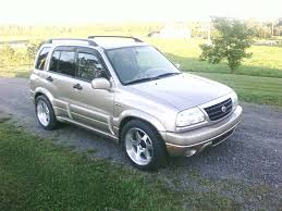 2001 suzuki grand vitara specs and photots rage garage