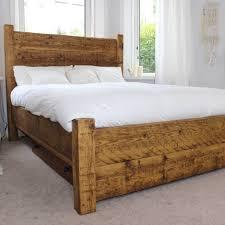 Reclaimed Wood Bedroom Furniture Rustic Bedroom Furniture Reclaimed Bed Modish Living