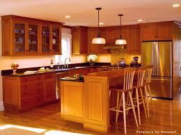 Signature Kitchen Cabinets Dovetail Signature Kitchen Cherry U0026 Tiger Maple With Custom