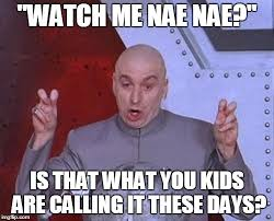 Nae Nae Meme - watch me nae nae is that what you kids are calling it these days