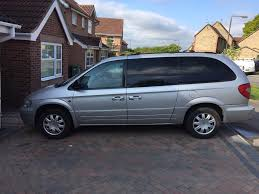 2006 chrysler grand voyager limited xs crd 2 8 stow u0026 go diesel
