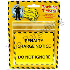 parking ticket jokes u0026 pranks ebay