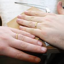 make your own wedding band make your own wedding rings experience in cornwall by carole allen