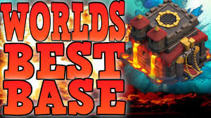 coc valencia map clash of clans best town 10 trophy base th10 war