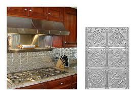 metal kitchen backsplash ideas kitchen with princess metal backsplash ceiling tile ideas