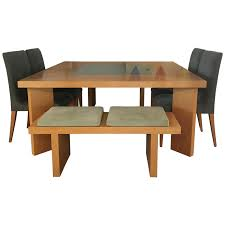 modern square dining table viyet designer furniture tables visions modern square wood