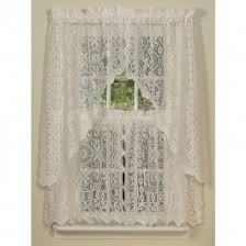 jacquard penny flower lace curtains sturbridge yankee workshop