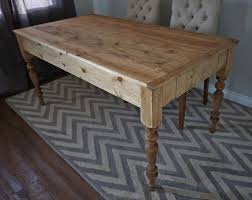 Homemade Dining Room Table Island Ana White Kitchen Table Ana White Modern Farm Table Diy