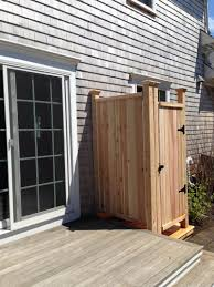 Cape Cod Outdoor Shower Company  Outdoor Shower Privacy Solutions