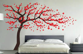 wall decals designs withal blossom tree wall decal