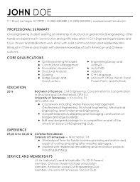 Civil Engineer Resume Template by Best Geotechnical Engineering Resume Templates Professional Civil
