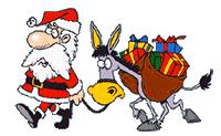 animated santa free christmas animations free santa animations clipart