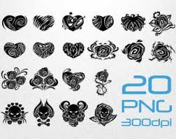 earring tattoo clipart