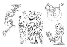 robots coloring pages crawler robot print free printable