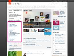 Home Design Software Adobe Adobe Intranet Homepage Quick Links Screenshot Web Pinterest
