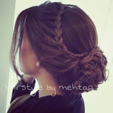 really pretty braid but would want it half down peinados