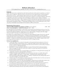Higher Education Resume Samples by Experience Resume Experience Section