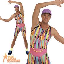 mr energizer 90 u0027s mens fitness motivator fancy dress costume