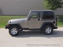 maroon jeep wrangler 2004 used jeep wrangler sport at signature autos inc serving