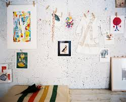 how to create a cork board wall for your home office