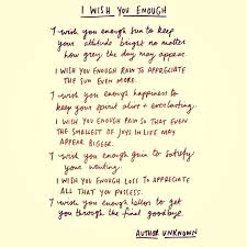 best 25 i wish you enough ideas on the last time poem