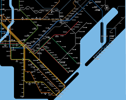 Nyc Subway Map Brooklyn by 1968 The Transit That Was Promised Change At Jamaica