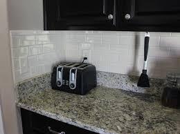 How To Install Backsplash Tile In Kitchen Diy Kitchen Backsplash Frills U0026 Drills