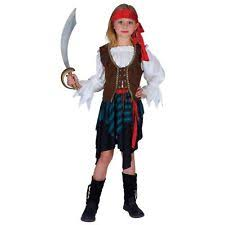 pirate polyester fancy dresses for girls ebay