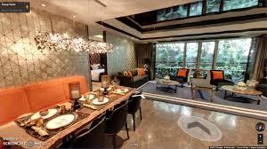 trump living room lodha trump tower worli mumbai sample flat dining room show