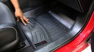 floor mats for toyota review of the weathertech front floor mats on a 2014 toyota