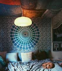 Wall Tapestry Hippie Bedroom Twin Hippie Mandala Indian Tapestry Wall Hanging Beautiful Indian