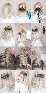 hair tutorials for medium hair best 25 easy hairstyles for medium hair ideas on pinterest