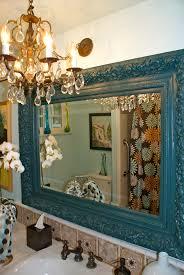 update bathroom mirror decorating home ideas