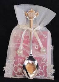 tea bag party favors how to make tea bag favors honey sticks sugar cubes and organza