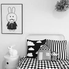 chambre bébé noir et blanc gallery of chambre gris noir et blanc maison design deco noir et