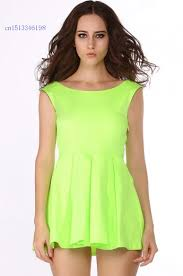 cheap neon green party dress find neon green party dress deals on