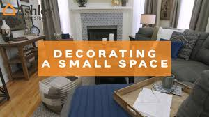 ashley homestore decorating small spaces youtube