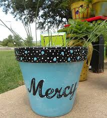 painted clay pots by granart hometalk