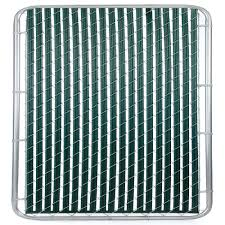 Curtain Wire System Home Depot by Casa Verde 6 Ft Green Fence Slat Vs003123gn072 The Home Depot