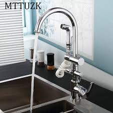 cuisine chaude mttuzk en laiton cuisine chaude et froide robinet d eau pivotant