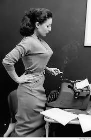 Typewriter Meme - colorization of woman with typewriter meme guy