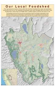 Reno Map Our Local Foodshed Great Basin Community Food Co Op