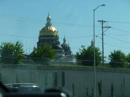Iowa State Capitol by Skid And Sandy On The Road Oshkosh Wisconsin To Des Moines Iowa