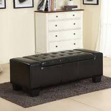 storage ottoman bench ebay