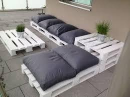 canapé exterieur palette salon de jardin en palettes ebay marbella pallets