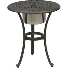 Lazy Susan Turntable For Patio Table Outdoor Lazy Susan With Umbrella Hole 30