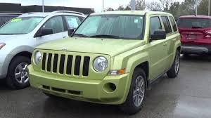 patriot jeep 2010 pre owned 2010 jeep patriot sport 4wd k14273a youtube